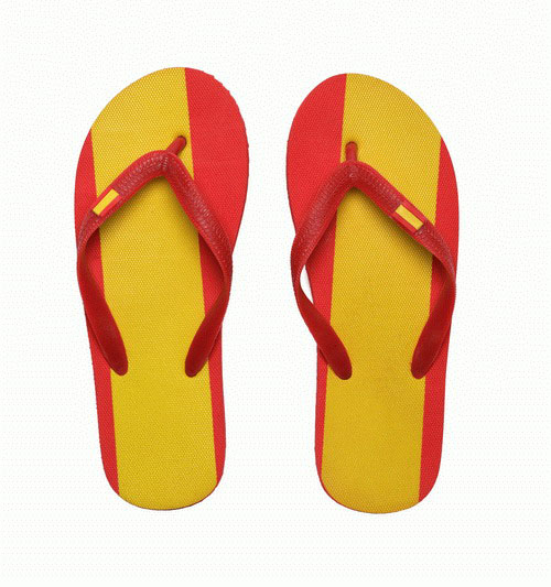 Spanish Flag Slippers