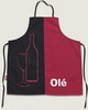 Kitchen Apron Wine and Olé