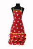 Red Flamenco Apron with White Dots and ''Madroños'' 20.00€ #504920011