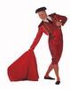 Disfraz torero matador. Rojo 41.50€ #50229MA538RJ