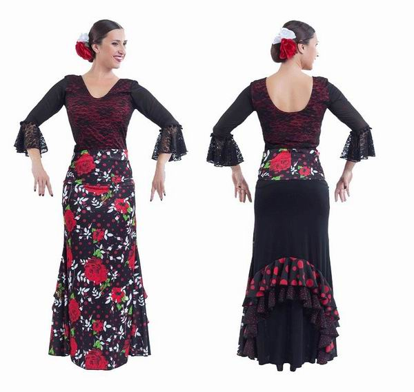 Jupes pour la Danse Flamenco Happy Dance. Ref. EF308PE30PS13PS82PS83