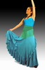 Rehearsal Flamenco Skirt: Light Green Model Palmeo 74.00€ #50171PALMEO