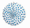 Chinese lantern with blue polka dots. 24 Chinese lanterns 21.90€ #5013400471