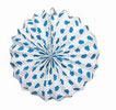 ランタン飾り ルナール(水玉)-ブルー. 24個 21.90€ #5013400471