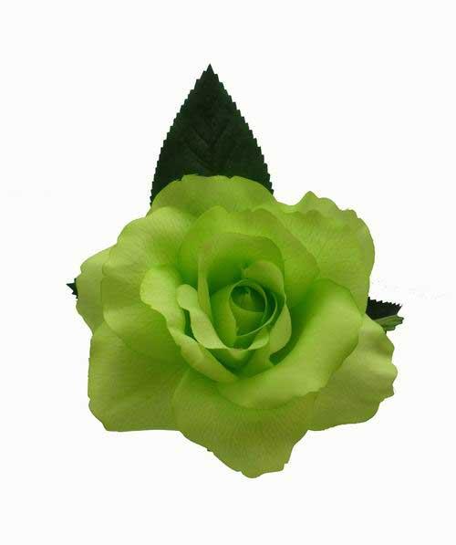 Flamenco Flower Rosa Danza. 11cm