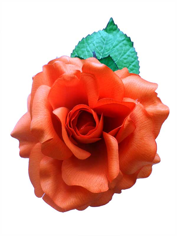 オレンジのフェリアコサ-ジュ. Cinthia モデル. 16cm