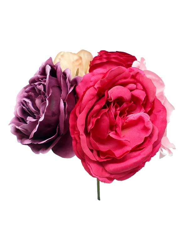 Assorted Bouquet of Flamenco Flowers in Fuchsia Shades