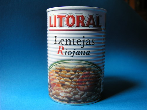 缶詰マメ料理 Lentils from the Rioja - Litoral