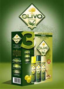 Huile d'Olive en Spray - pack de 3 unités