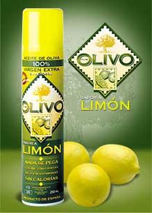Olive Oil Spray lemon flavour