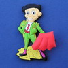 Torero with muleta  - Fridge Magnet 2.00€ #508563333