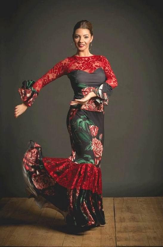 Flamenco Top Molinos Model. Davedans