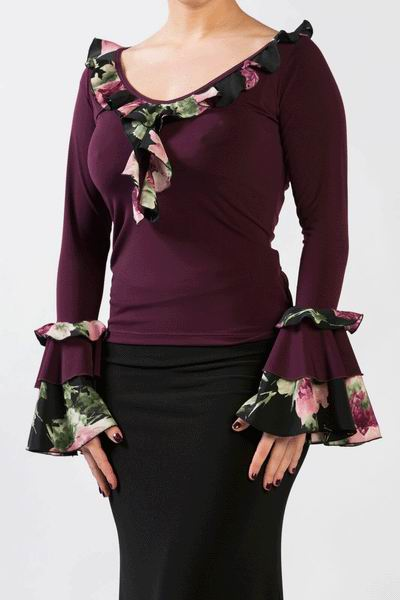 Flamenco Top Cabales ref. 3787