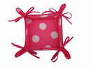 Fuchsia Breadbasket with White Polka Dots 8.500€ #504920040