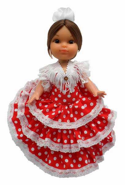 Spanish Dolls. 25cm
