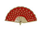 Red Fan Pin 1.90€ #50083P0038