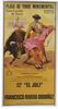 Poster of the Monumental Bullfighting of Madrid. Bullfighters El Juli and Rivera Ordoñez 10.10€ #500190532