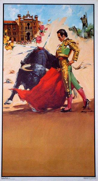 The bullfighting posters with bullfighting scenes ref. 194 10.10€ #50491CCN194