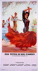 Red Flamenca Dancer Poster