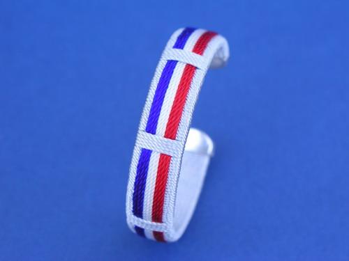 French Flag Bracelet