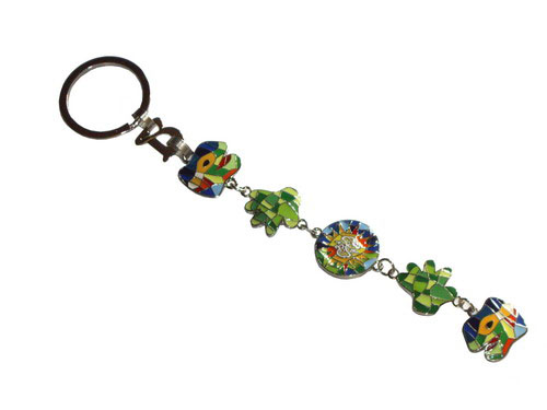 Key Ring with the Gaudi Dragon