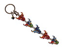 Multicolor and mosaic key ring with 5 bull's heads 7.75€ #5057912508