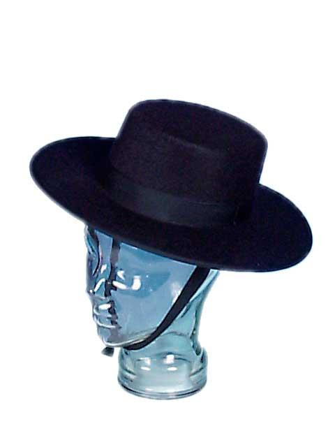 Cordobes Felt Hat. Black