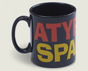 Taza Atypical Spanish negra