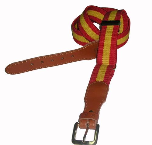 Spanish Flag Belt - Ref. 914