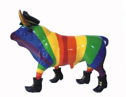 Gay bull - Magnet