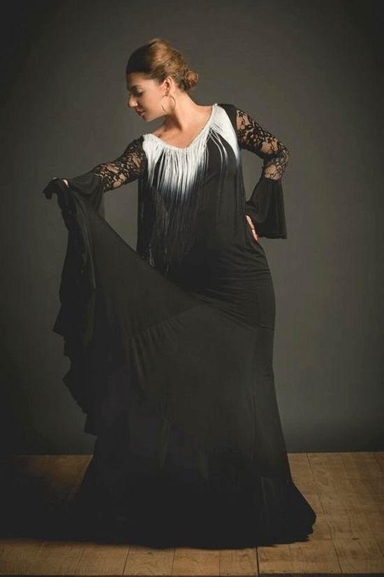Vestido Flamenco Adalia. Ref. 3900