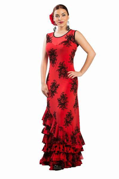 Alberti Flamenco Dress. ref. 3808