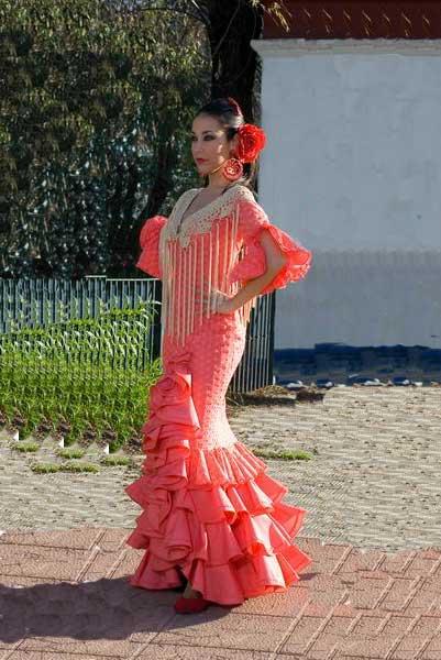 Traje De Flamenca Dulce Robes De Feria Andalouse