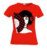 T-shirt Eventail de flamenco 14.50€ 50073ABANICO